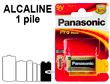 PILE PANASONIC 6LR61 Pro Power
