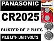 PILE PANASONIC CR2025 3V