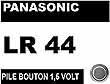 PILE PANASONIC PX76 1,5V ALCALINE