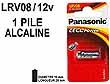 PILE TELECOMMANDE PANASONIC LRV08 12V